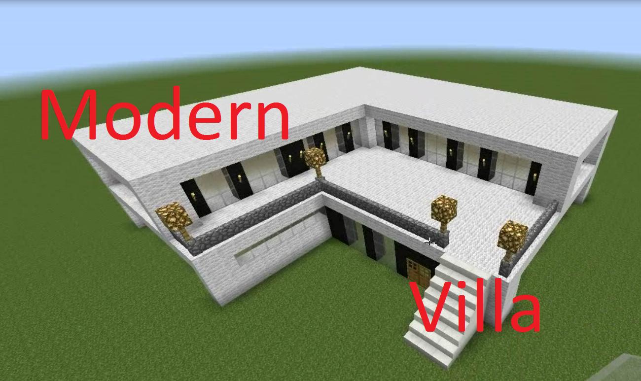 Modern Villa Minecraft